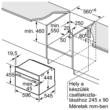 Beépíthető mikrohullámú sütő C17UR02N0