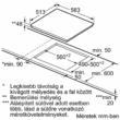 Üvegkerámia főzőlap 60 cm T16BT76N0