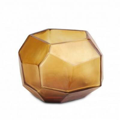 Guaxs Cubistic tealight clear gold