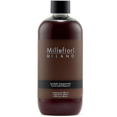 Millefiori Natural Sandalo Bergamott utántöltő 250ml