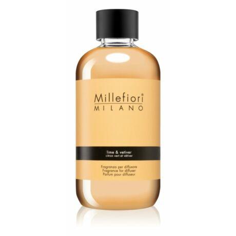 Millefiori Natural Lime & Vetiver utántöltő 250ml
