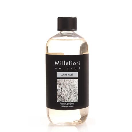 Millefiori Natural White Musk Utántöltő 500ml