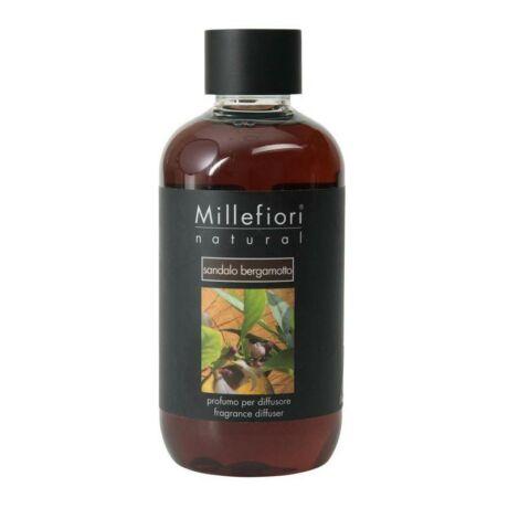Millefiori Natural Sandalo Bergamotto Utántöltő 500ml